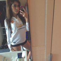 Ella es la chica conocida en Twitter como Hellina Foto:Vía twitter.com/HELLinaaaa
