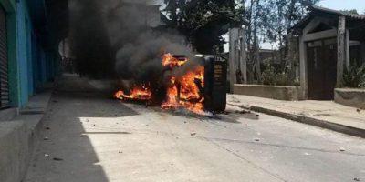 Tres crímenes desatan la ira en San Juan Sacatepéquez