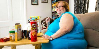 Tiene una cintura de 283 centímetros y pasó años luchando contra la gordura. Foto:vía Barcroft Media/Other Images