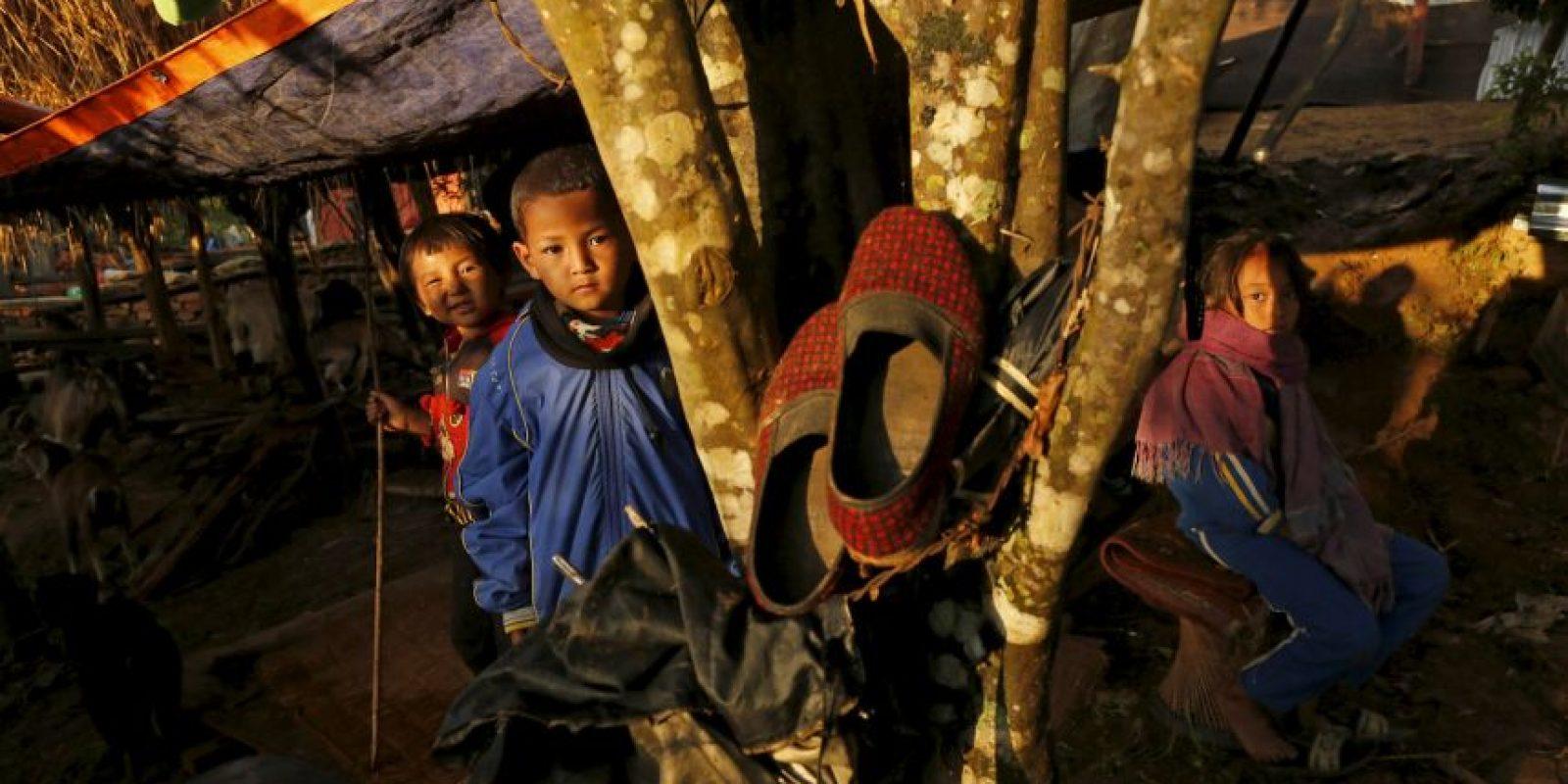Entre el 40 y el 50% de la población afectada son menores de 18 años Foto:AP