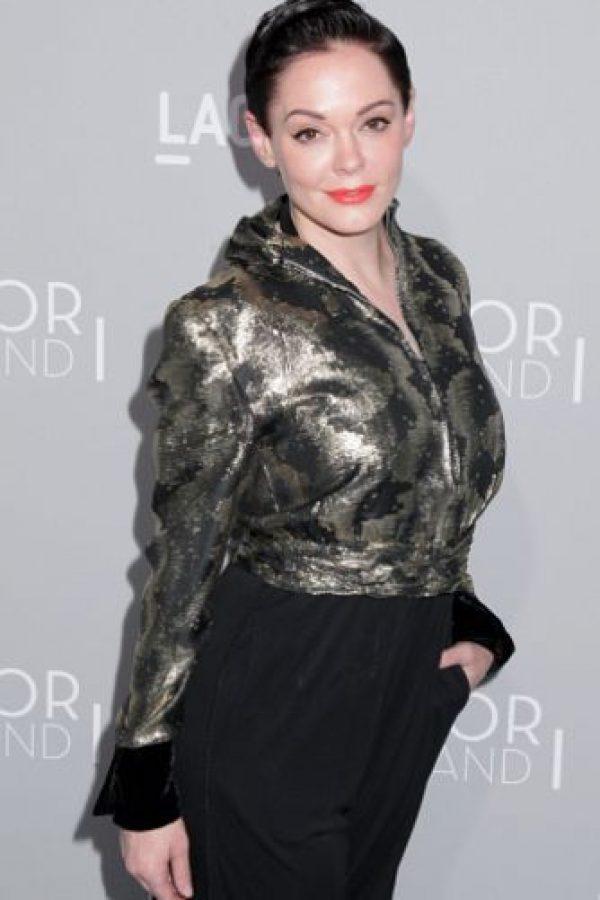"""Rose fue célebre por ser novia de Marilyn Manson y también por su papel en """"Charmed"""". Apareció en las películas de su segundo esposo, Robert Rodríguez, """"Grindhouse"""" y """"Machete"""". Está divorciada. Foto:vía Getty Images"""