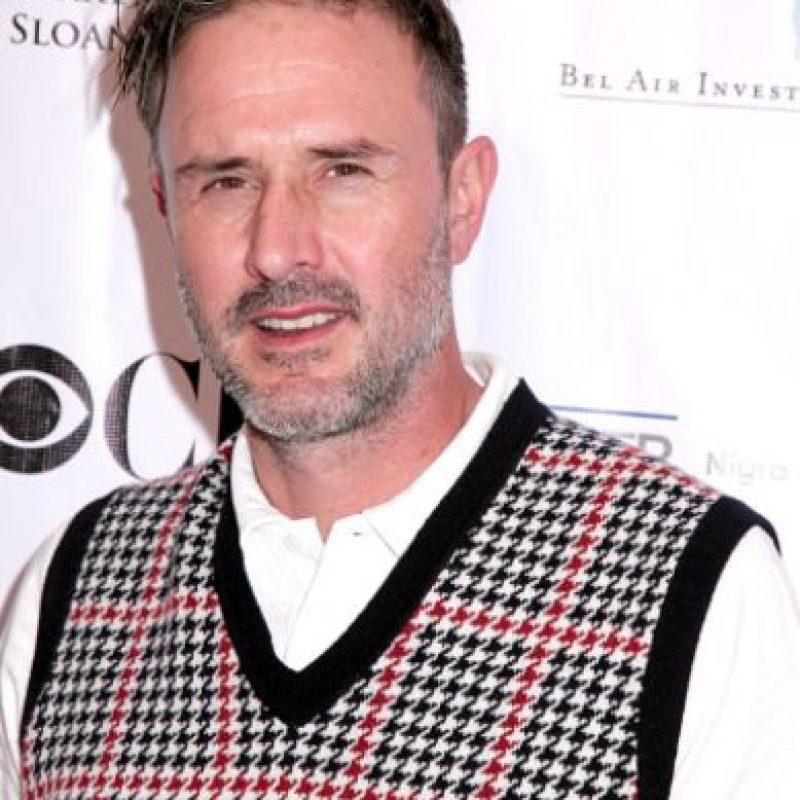 """David se casó y se divorció de Courteney Cox. Ha estado en """"Pushing Daisies"""", """"Medium"""" y protagonizará la serie televisiva de la película """"Scream"""". Foto:vía Getty Images"""