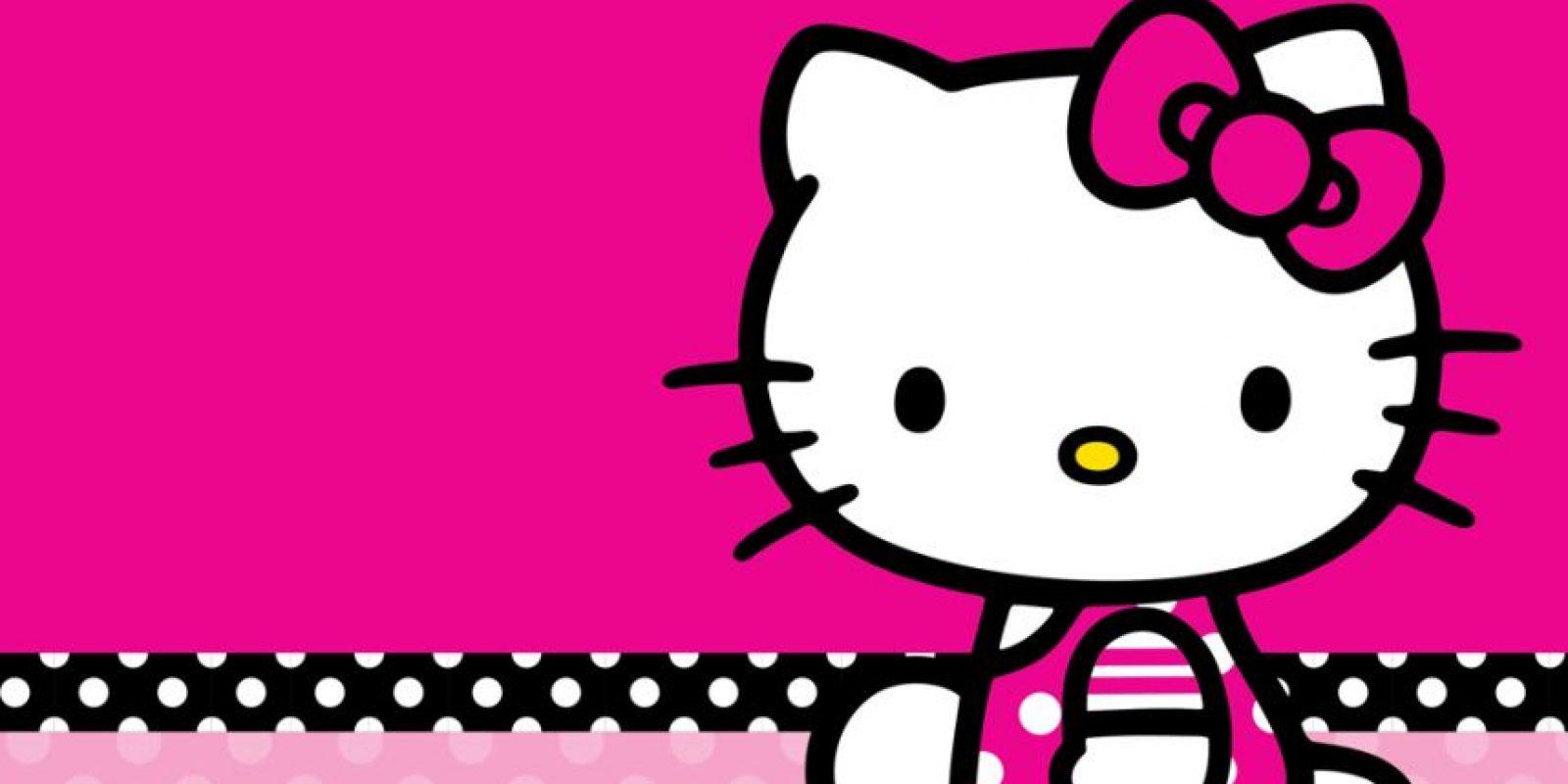 """Hello Kitty también adora al """"demonio"""". Foto:vía Sanrio"""