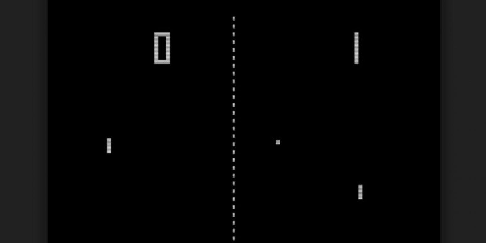 Pong está basado en el deporte de tenis de mesa (o ping pong) Foto:Wikicommons