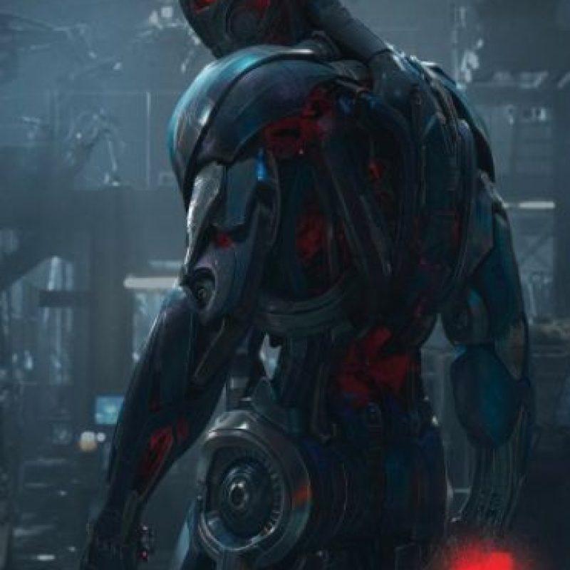 """""""Ultrón"""" será el villano de la película de superhéroes. Foto:Facebook/Avengers"""