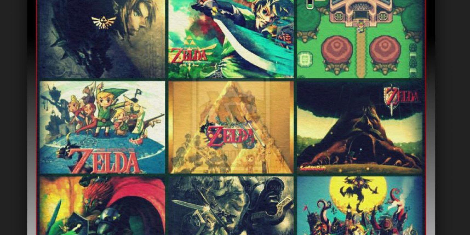 The Legen Of Zelda es un clásico de Nintendo. Link, el protagonista de la saga, solo está por debajo de Mario en cuanto popularidad Foto:deviantart.com
