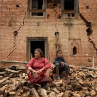 2. Nepal es vulnerable a los altos precios de los alimentos, especialmente en las zonas montañosas remotas, lo que desencadena el hambre. Los precios promedio de los alimentos en las regiones de montañas y colinas son 100% más altos que en otros lugares. Foto:AFP