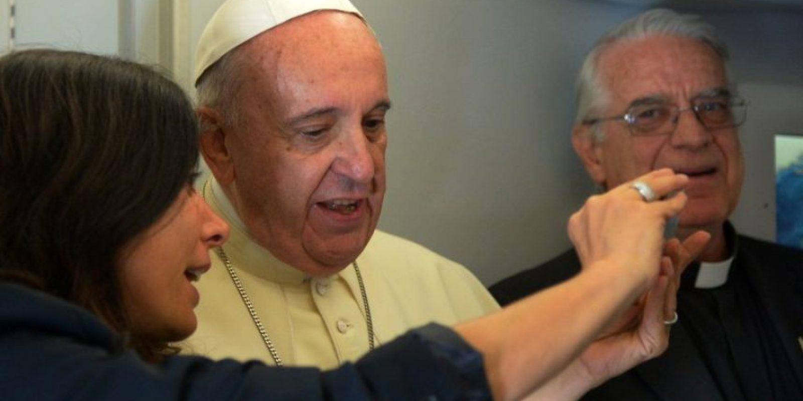 """7. """"La Iglesia no debería temerle al cambio"""" Foto:AFP"""