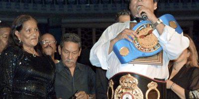 El panameño no duda en que Manny Pacquiao derrotará a Floyd Mayweather. Foto:AFP