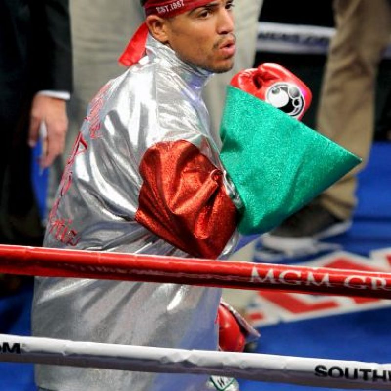 Víctor Ortiz es un boxeador y actor estadounidense. Foto:Getty Images