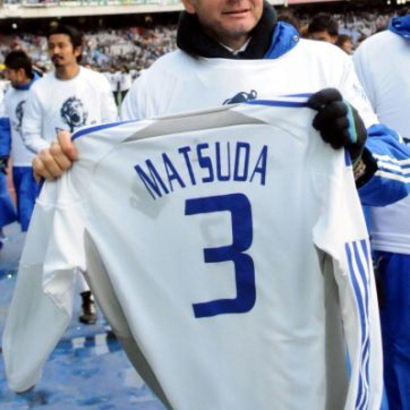 Matsuda no pudo superar su padecimiento y murió dos días después a causa de un paro cardiorrespiratorio. Foto:Getty Images