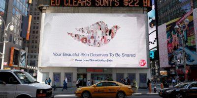 La campaña de Dove desde el 2004, está dedicada a estándares reales de belleza. Foto:Getty Images
