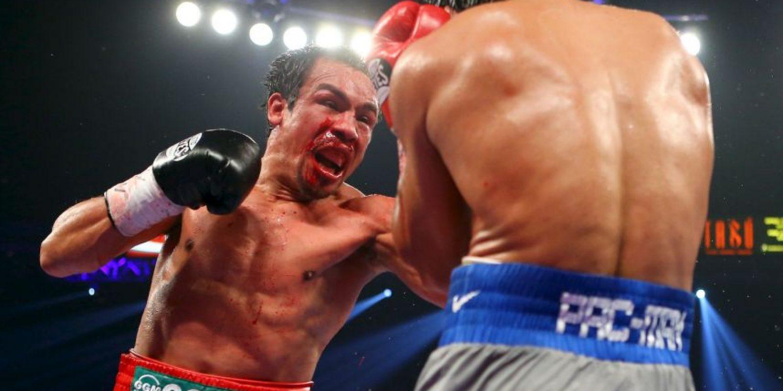 El azteca logró vencer a Pacquiao en su cuarto enfrentamiento Foto:Getty Images