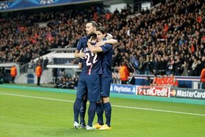 4. Ibrahimovic – Cavani – Lavezzi (PSG-Ligue 1) Foto: Getty Images