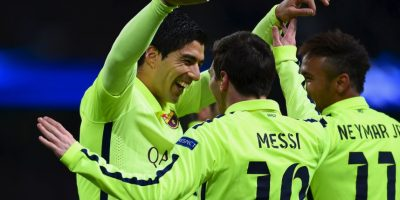 1. Messi – Suárez -Neymar (Barcelona/La Liga) Foto: Getty Images
