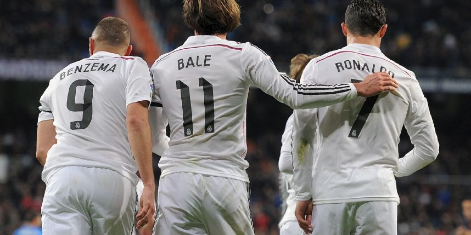 De esos, 50 son de Cristiano Ronaldo, 22 de Karim Benzema y 17 de Gareth Bale. Foto:Getty Images