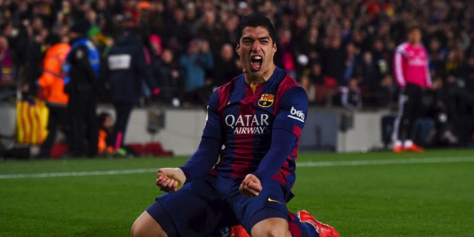 Y 21 de Luis Suárez. Foto:Getty Images