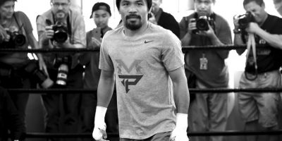 9. Si Manny gana en el primer round, también se pagan 67 dólares Foto:Getty Images