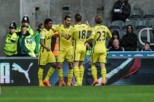 5. Kane – Chadli – Eriksen (Tottenham/Premier League) Foto:Getty Images