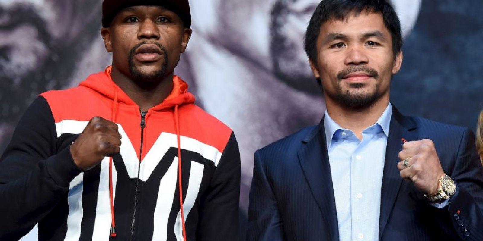 2. Si uno de los boxeadores gana entre el primer y sexto round se dan siete dólares por cada uno apostado Foto:Getty Images