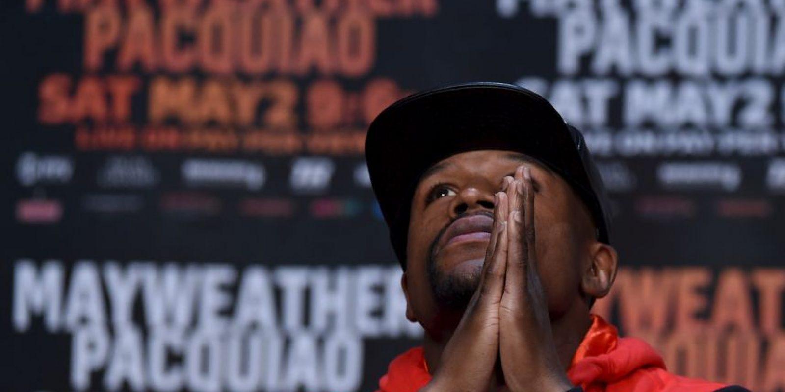La pelea se llevará a cabo el próximo 2 de mayo Foto:Getty Images