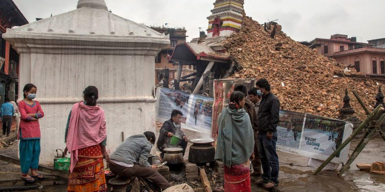 2. UNICEF ha indicado que dos millones 800 mil niños necesitan ayuda en Nepal. Foto:Getty Images