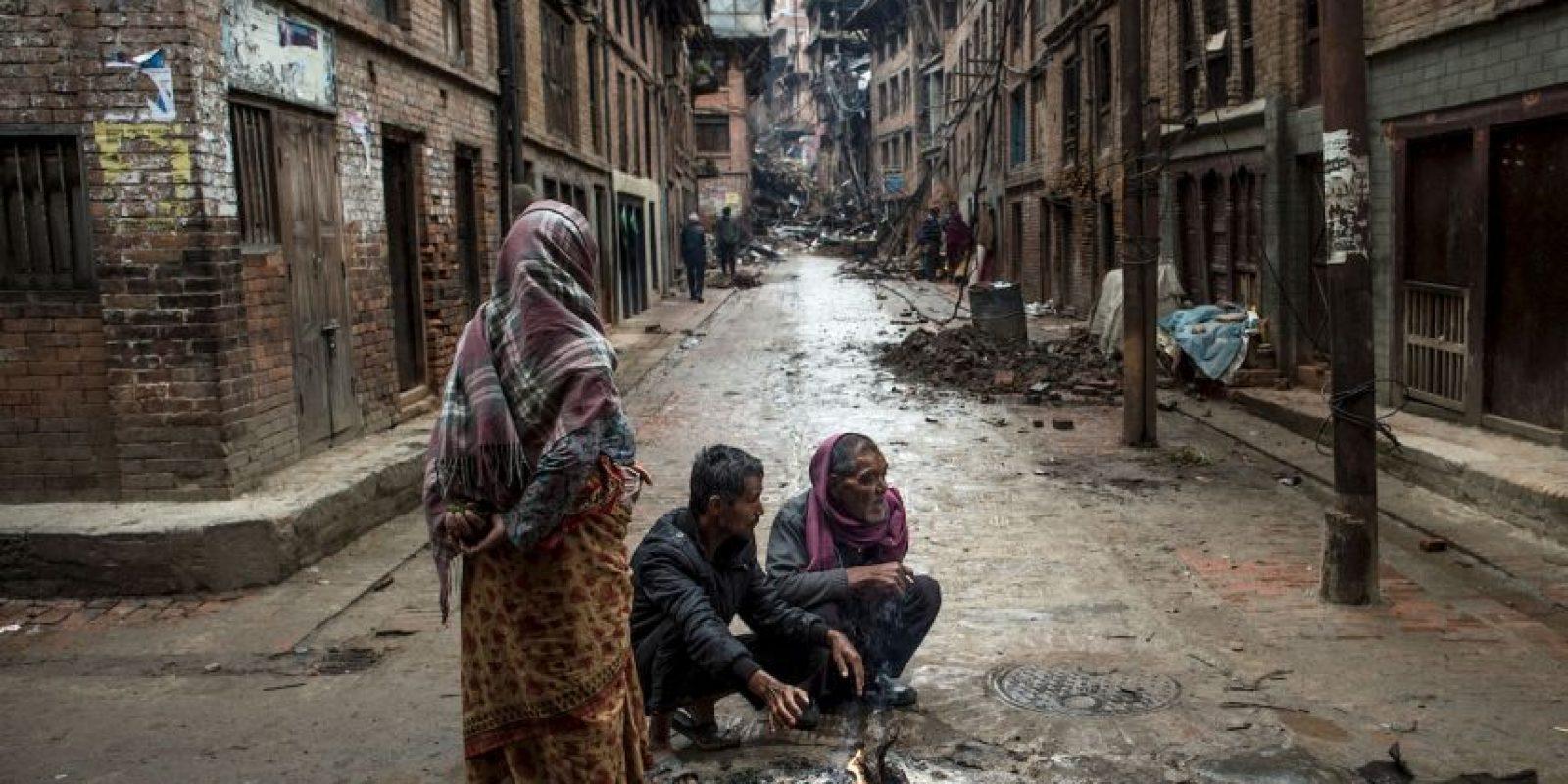 Los nepalíes intentan volver a la normalidad. Foto:Getty Images