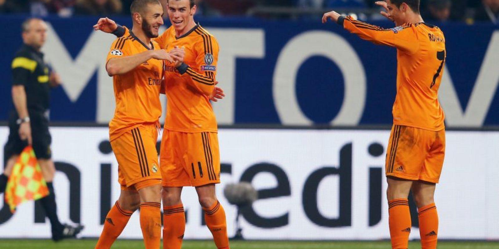 2. Benzema – Bale – Cristiano (Real Madrid/La Liga) Foto:Getty Images