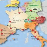 Europe (Europa) – Es el continente más antiguo del mundo y abarca 10 millones 530 mil 751 kilómetros cuadrados. Foto:Getty Images