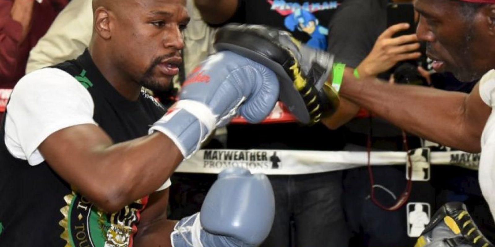 """8. """"Floyd Mayweather está en el deporte para dar grandes actuaciones"""" Foto:Getty Images"""
