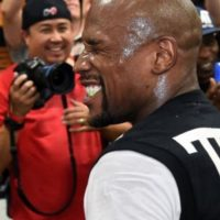 12. Floyd Mayweather no solo es el boxeador más rico, también es el deportista mejor pagado. Cobra hasta 73.5 millones de dólares, según ESPN Magazine Foto:Getty Images