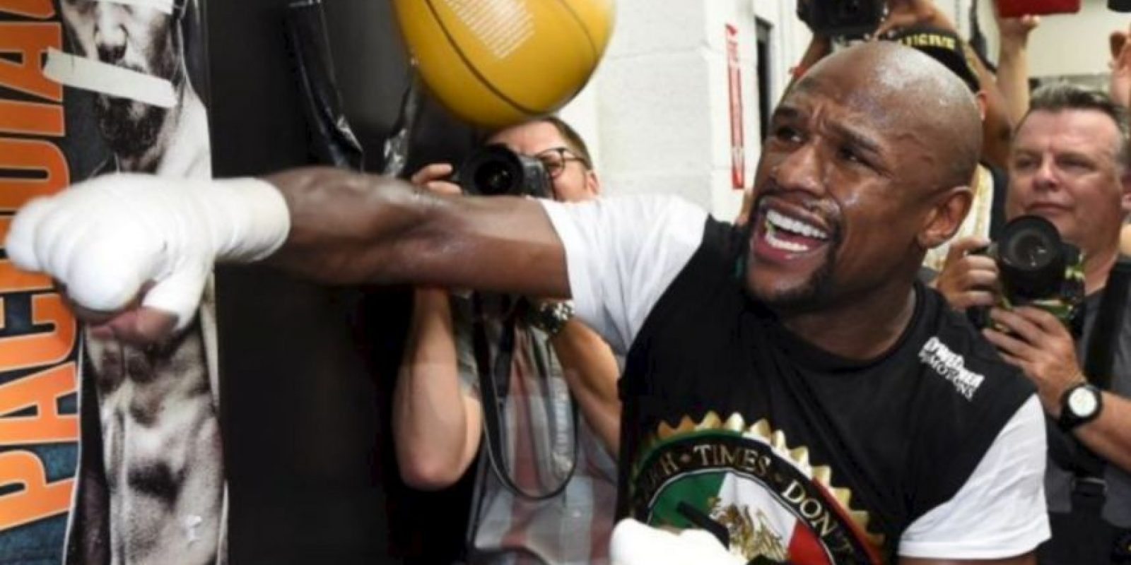 19. Mayweather es favorito en las apuestas Foto: Getty Images