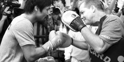 11. La pelea se disputará en el MGM Grand Garden de Las Vegas Foto:Getty Images