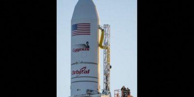 La misión espacial Antares Foto:AFP