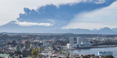 Tercer pulso eruptivo del volcán Cabulco en Chile Foto:AP