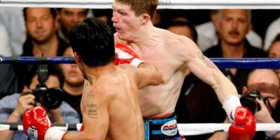 """El británico también cayó con """"Manny"""" Foto:Getty Images"""