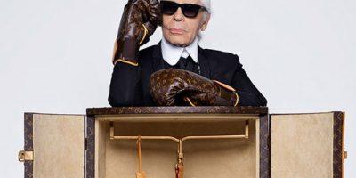 Un par de guantes de boxeo diseñados por el mismísimo Karl Lagerfeld. Foto:louisvuitton.com
