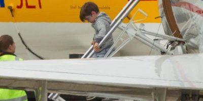 Ricky Martin viaja con sus hijos a Australia