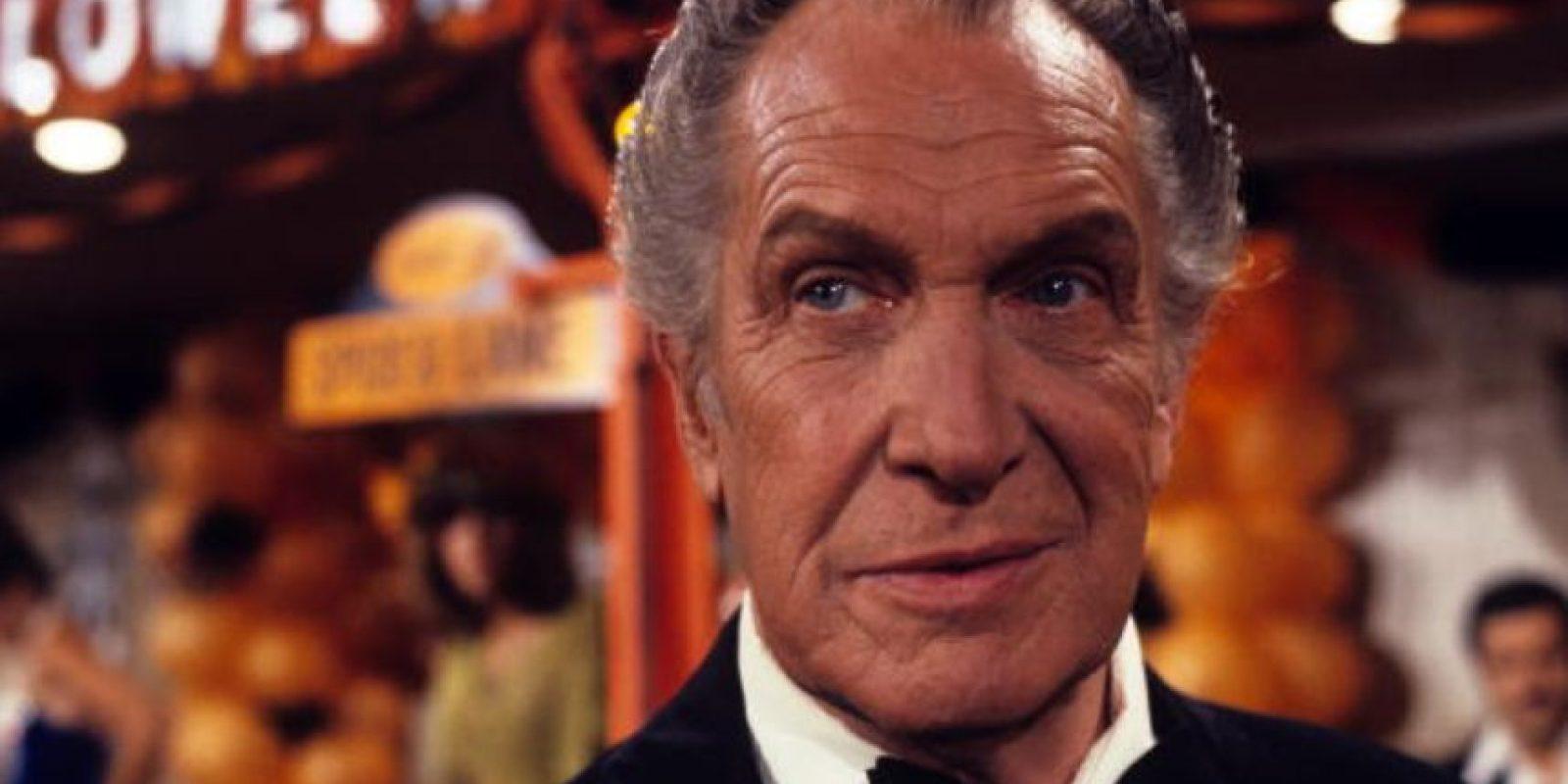Fue uno de los actores de culto del cine. Su género, el horror. Murió en 1993. Foto:vía Getty Images