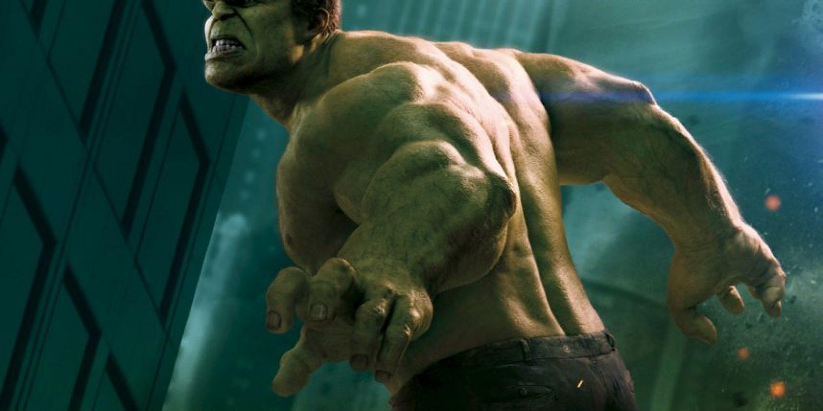 """""""Hulk"""" es una gran mole que también necesita personalidad. Foto:vía Marvel"""