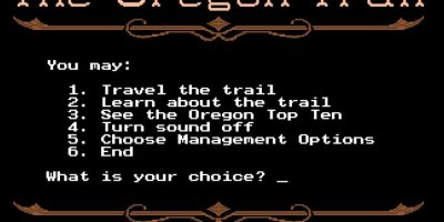 The Oregon Trail Foto: MECC