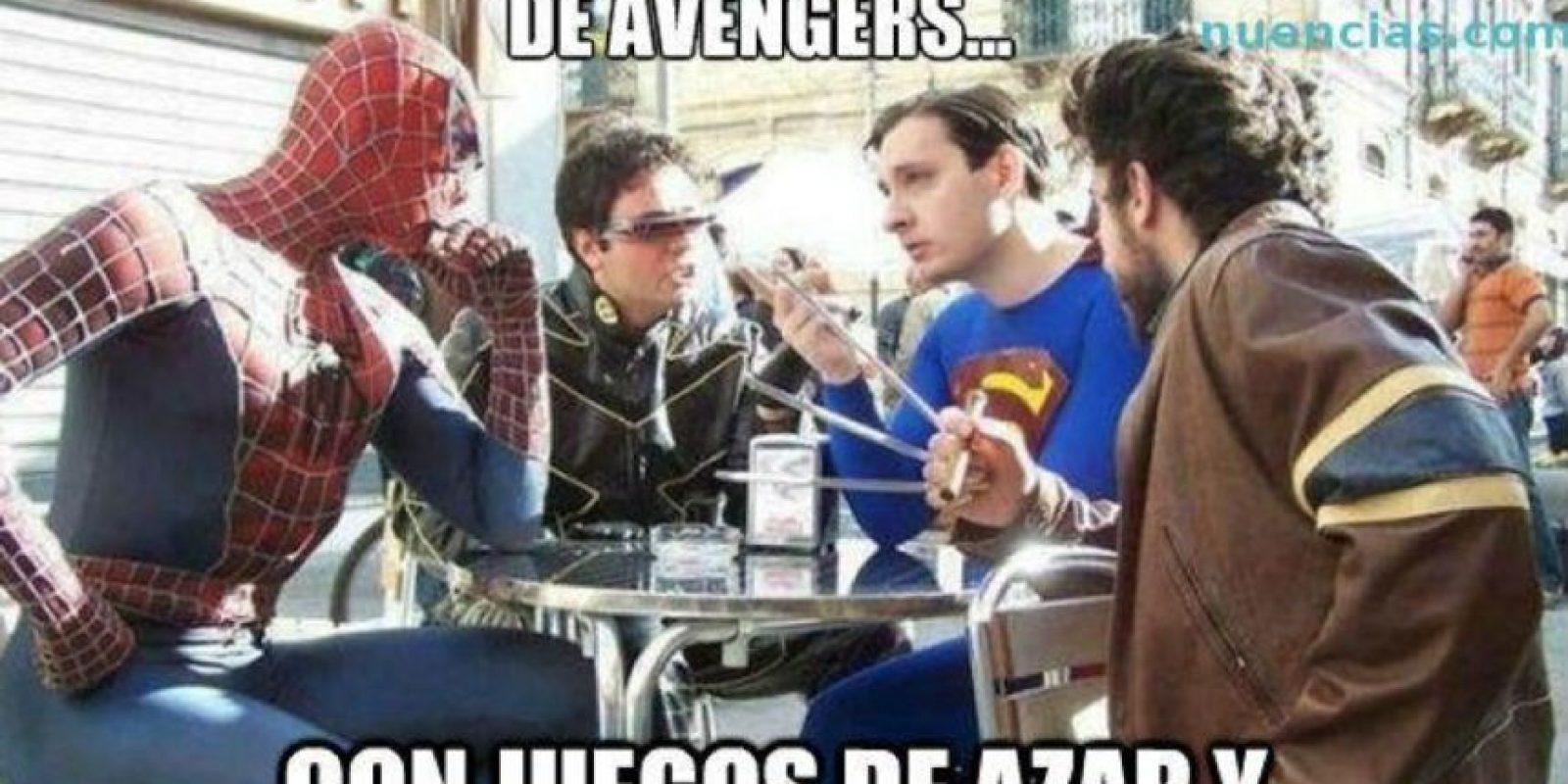 """Los """"rechazados"""" de """"Los Vengadores"""". Foto:vía QuickMeme"""