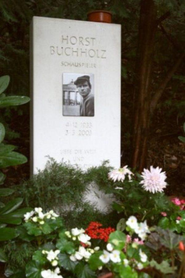 Murió en 2003. Foto:vía Getty Images