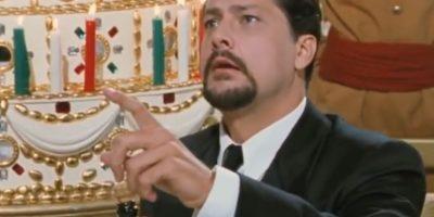 "Amerigo Fontani era ""Rodolfo"", el prometido de ""Dora"", rico y prepotente. Foto:vía Cecchi Gori Produzioni"