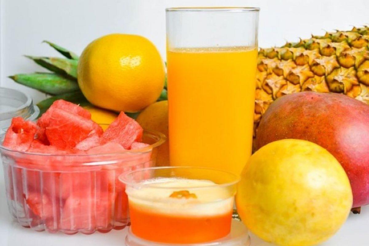 7. Frutas tropicales como la piña o papaya Foto:Pixabay