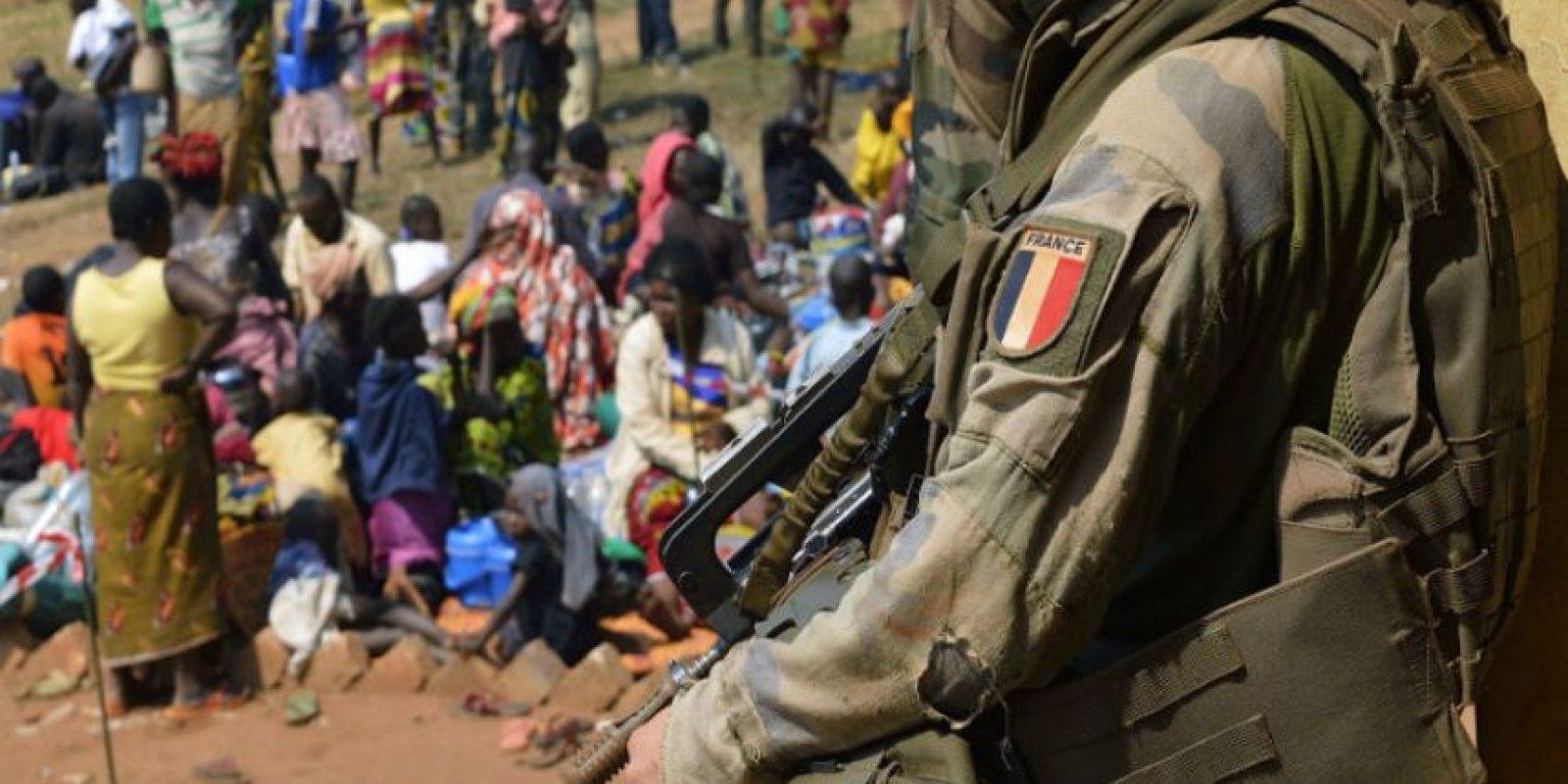 El ejército francés, acostumbrado a intervenir en África, se enfrenta a un escándalo potencialmente devastador en la República Centroafricana. Foto:AFP