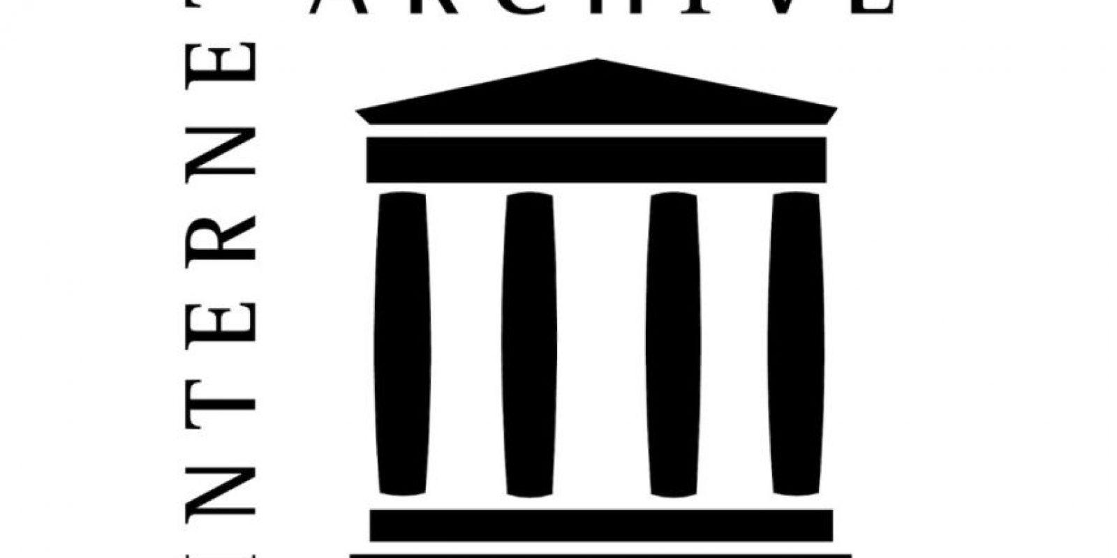 Internet Archive es un sitio web y una organización sin ánimo de lucro destinada a la preservación de historiales web y recursos multimedia Foto:http://www.logoeps.net/internet-archive-logo.html