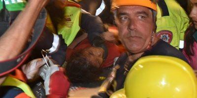 Las labores tardaron aproximadamente diez horas Foto:AFP