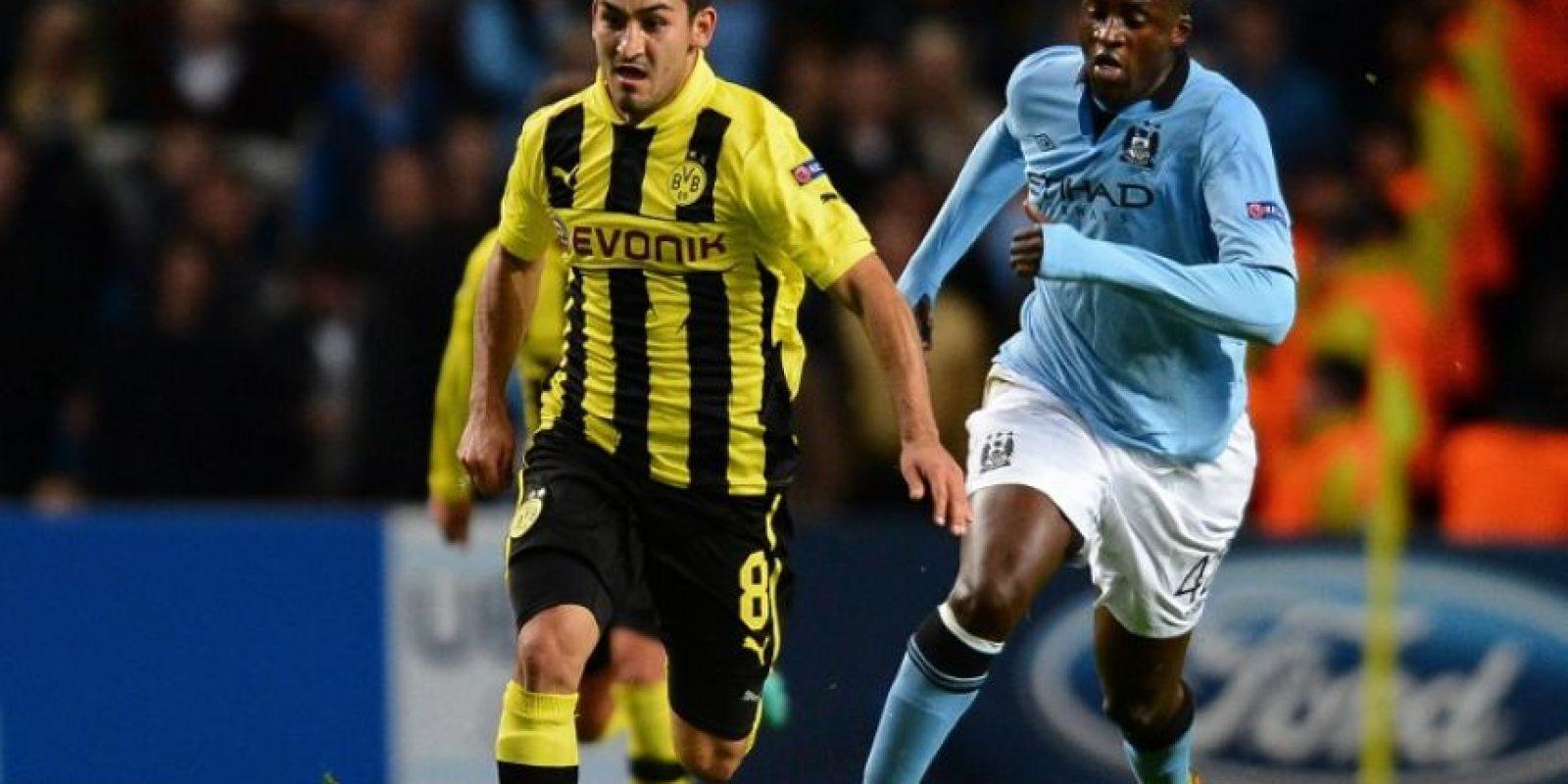 Gundogan será uno de los estelares que no seguirá su carrera en el Dortmund. Foto:AFP