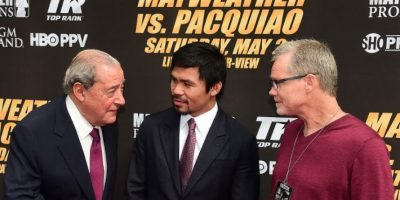 Freddie Roach ha sido parte del éxito en la carrera de Manny Pacquiao. Foto:AFP